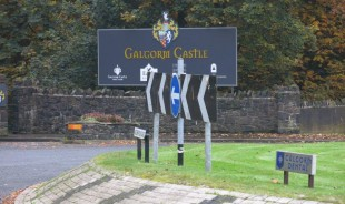 Galgorm Dental Roundabout Sign 1